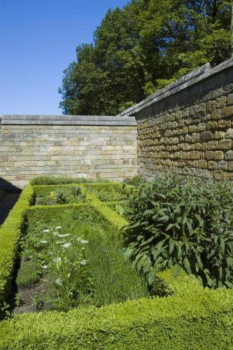 Mount Grace Priory - Cell Herb Garden
