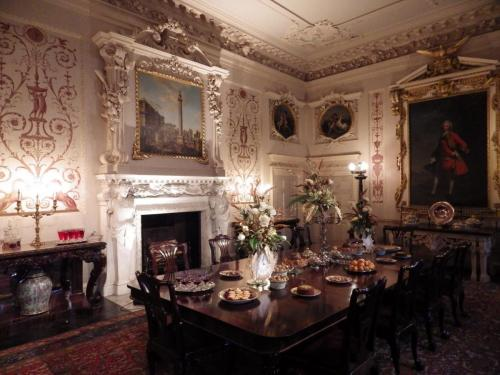 Nostell Priory Decorated Room