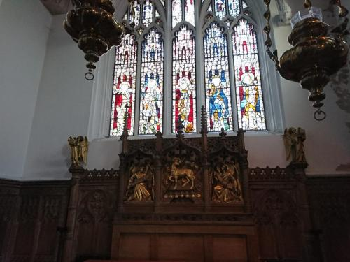 St Olaves Church - Stained Glass Windows