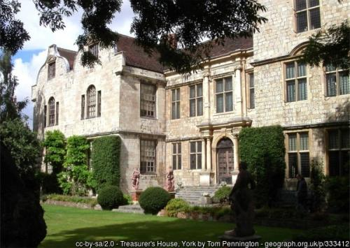 Treasurer's House in York