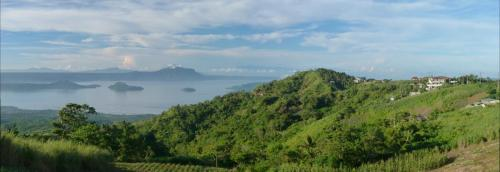 View of Taal Lake from Tagaytay.