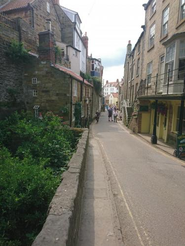 Street in Robin Hood's Bay